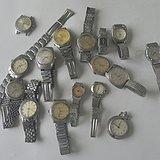 十六个旧手表