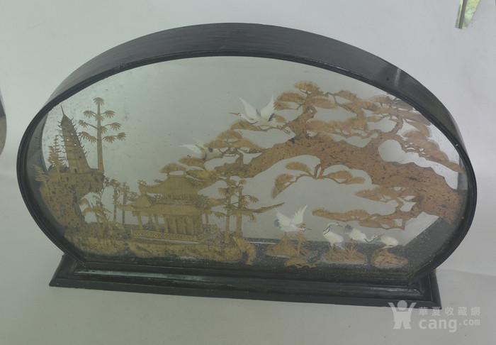 老大檀香木雕摆件图8