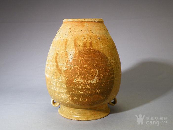 第2080号长沙窑褐彩罐