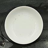 清代白釉盘
