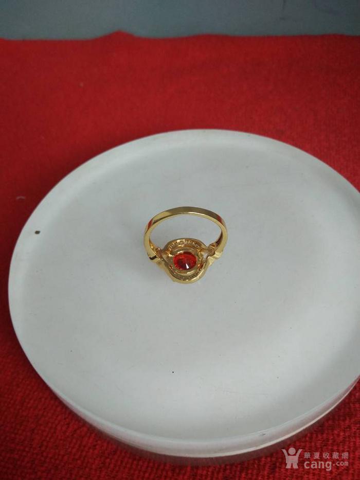 天然红宝石戒指