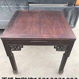 民国老红木 酸枝 弯腿麻将桌