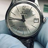 瑞士Benrus贝罗斯17 钻日历手表