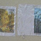 两幅精品绣织