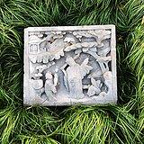 清中期 苏工 指日高升 深浮雕 砖雕