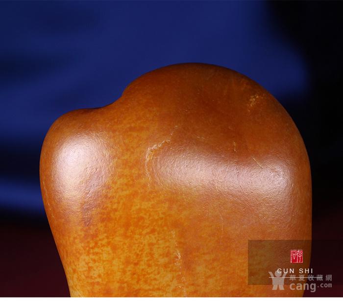 收藏级珍品 存石和田玉 新疆和田玉籽料红油皮原石368g图9