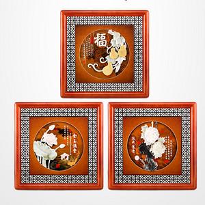 富贵万年玉雕画珍藏 由美术工艺康志敏大师倾心打造设计