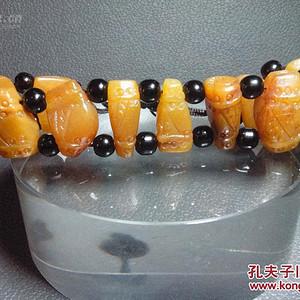 真正寿山石手链,通透灵性,漂亮美丽