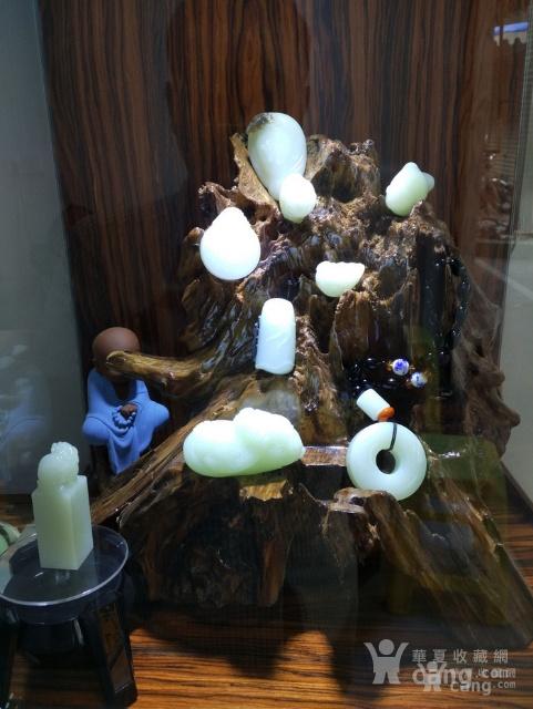 和田玉羊脂白玉籽料福在眼前佛公挂件吊坠苏州工艺