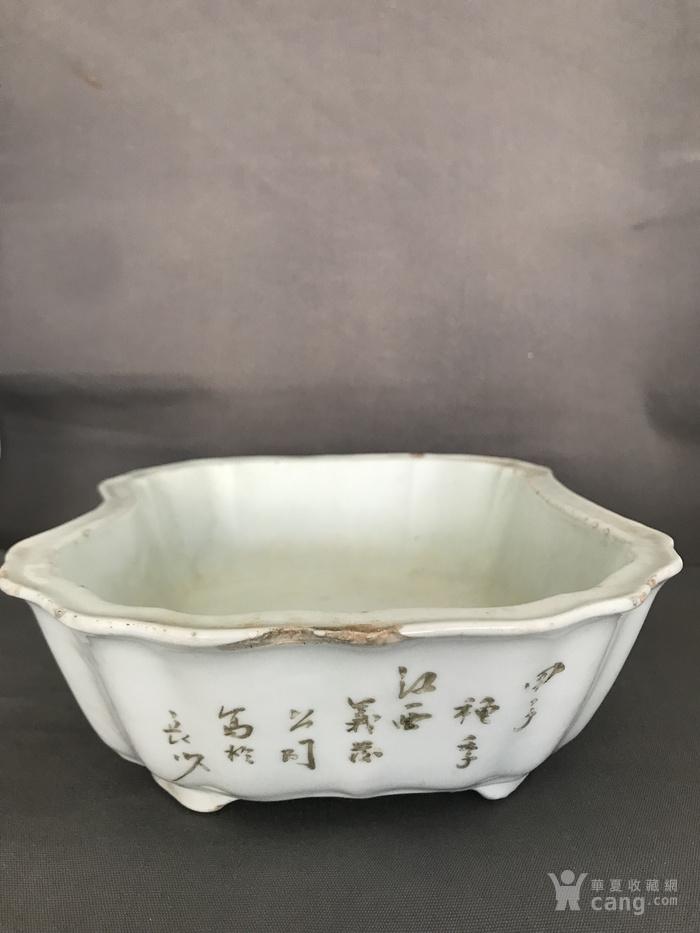 民国水仙盆