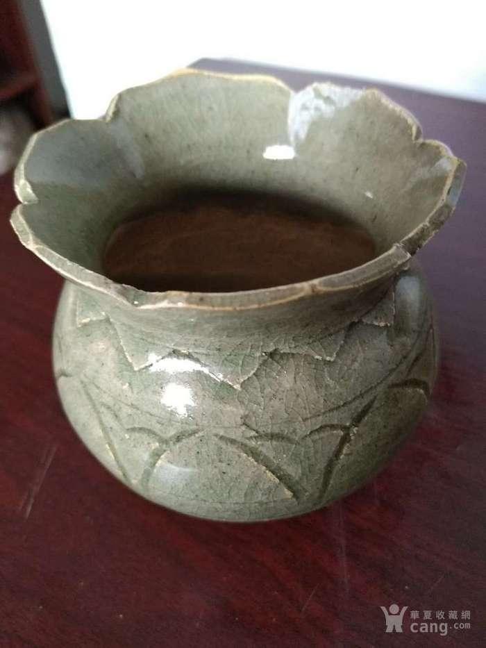 龙泉窑小罐
