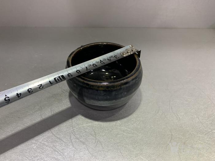 全品黑釉卷口缸