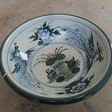 醴陵瓷盆子