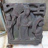明代人物石雕