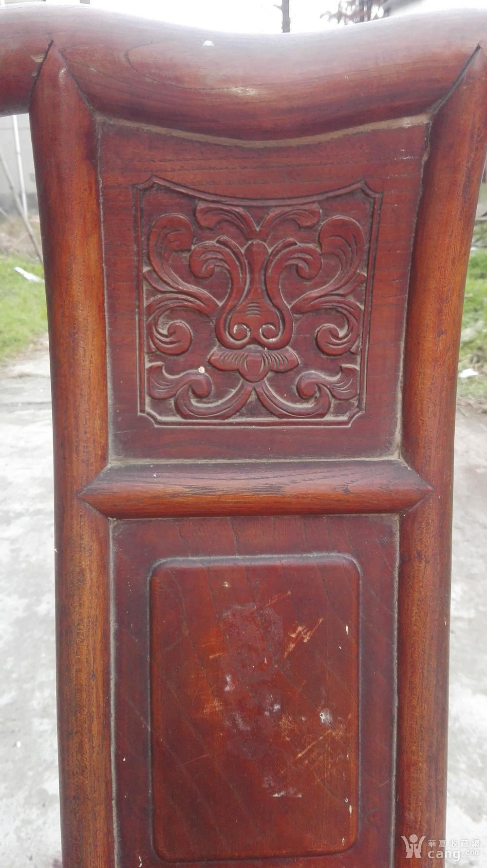 红木小靠背椅子图片